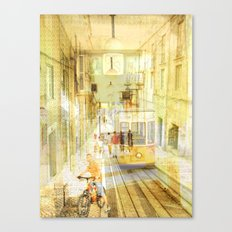 Memories from Lisbon Canvas Print