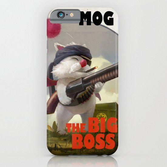 Retro Big Boss Promo  iPhone & iPod Case