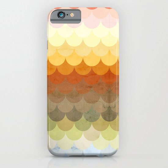 Half Circles Waves Color iPhone & iPod Case