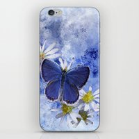 Little Blue iPhone & iPod Skin