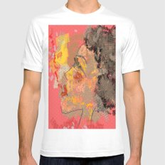 Sammy SMALL White Mens Fitted Tee