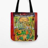 Ithaca Beer Flower Power… Tote Bag