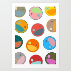 Utterly quackers  Art Print