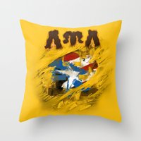 LUL Puerto Rican 2013 Throw Pillow