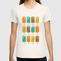 Popsicle Womens Fitted Tee Natural SMALL