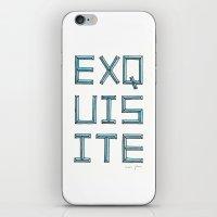 EXQUISITE iPhone & iPod Skin
