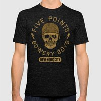 Bad Boy Club: Five Point… Mens Fitted Tee Tri-Black SMALL