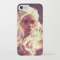 dragon iPhone & iPod Cases featuring Fireheart by Alice X. Zhang