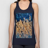 My blue reed dream - photography Unisex Tank Top