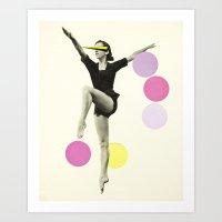 The Rules Of Dance II Art Print
