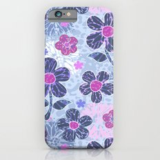 flowers mix iPhone 6 Slim Case