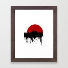 Cityline Framed Art Print