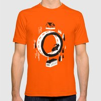 The Suburbs Mens Fitted Tee Orange SMALL
