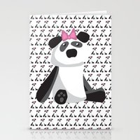 Panda Girl Stationery Cards