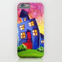 iPhone & iPod Case featuring Happy House by Kr_design