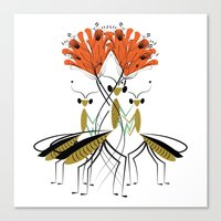 The Lily Farmers Canvas Print