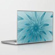 Blue Fantasy Star, Abstr… Laptop & iPad Skin