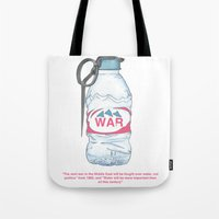 water bottle grenade  Tote Bag