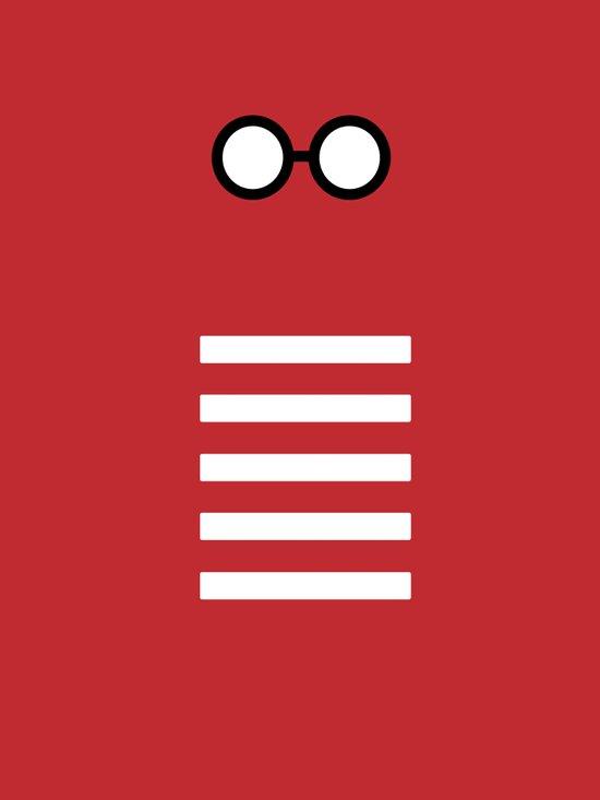 Where's Waldo Minimalism Art Print