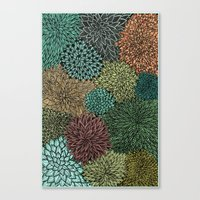 Ink  Pattern No.4 Canvas Print