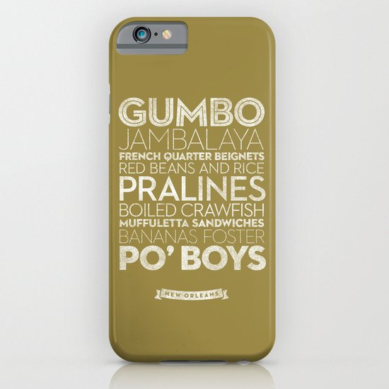 New Orleans — Delicious City Prints iPhone & iPod Case