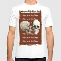 Lost Art Of Keeping A Se… Mens Fitted Tee White SMALL