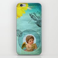 Angel Playing Music In S… iPhone & iPod Skin