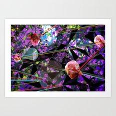 GeoLazer Art Print