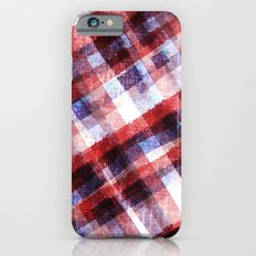 Christmas Plaid iPhone 6s Slim Case