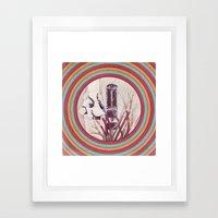 Wired Mind Framed Art Print