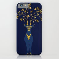 Golden deer iPhone 6 Slim Case