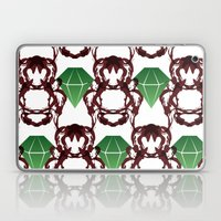 Emeralds & Demons [WHITE] Laptop & iPad Skin