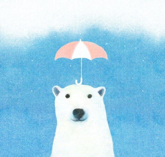 Say hello polar bear Art Print