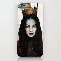 iPhone & iPod Case featuring Queen by Feline Zegers