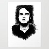DARK COMEDIANS: Bill Hader Art Print
