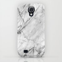 Samsung Galaxy S4 Case featuring Marble by Patterns and Textures