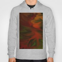 Flaming Red Hoody