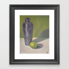 Shaker & Lime Framed Art Print