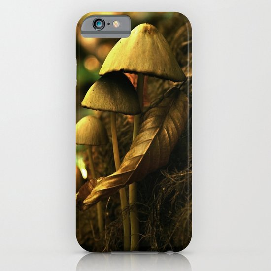 Magic mushroom family iPhone & iPod Case