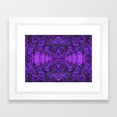 Violet Void Framed Art Print
