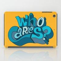 Who Cares? iPad Case