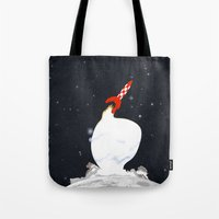 Destination Moon Tote Bag