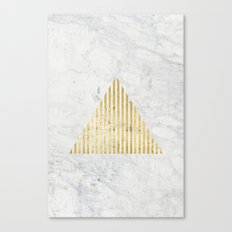 Trian Gold Canvas Print