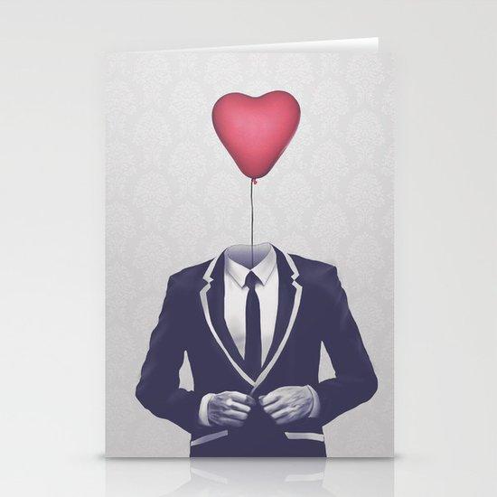 Mr. Valentine Stationery Card