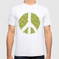 Peas Mens Fitted Tee Ash Grey SMALL
