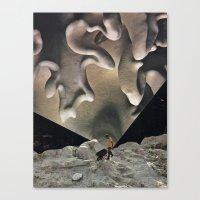 Calcium Canvas Print