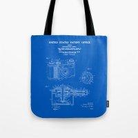 Camera Patent 1938 - Blueprint Tote Bag