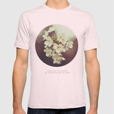 beauty Mens Fitted Tee Light Pink SMALL