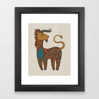 Dream Animal Framed Art Print