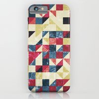 iPhone & iPod Case featuring Geo Summer Grunge by Lachyn